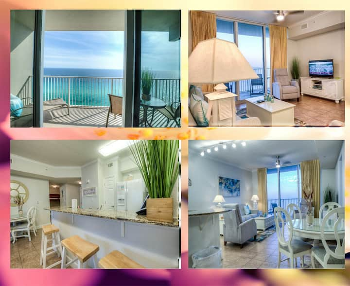 Exceptional Tidewater 2315 Condo Overlooking the Gulf! Stunning Unit!