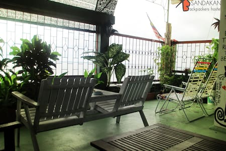 Sea View Twin Room - Sandakan Backpackers Hostel
