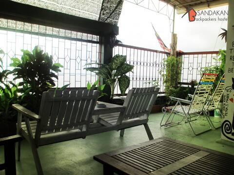 Sea View Twin Room - Sandakan Backpackers Hostel