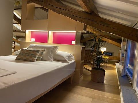 Arkkitehtuurinen ansio kattojen yläpuolella