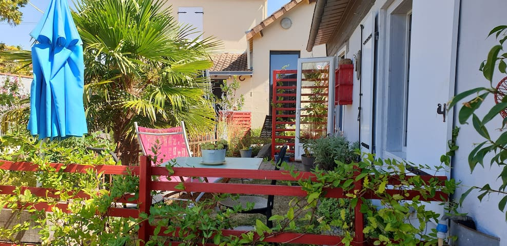 Charmant studio aux portes du Marais Poitevin