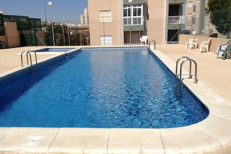 For rent apartment near La Mata beach with pool - Torrevieja