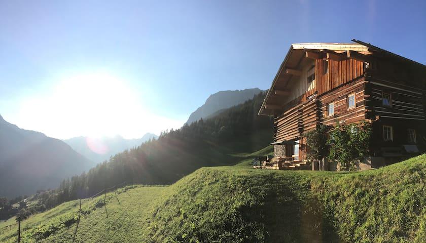 Ferienwohnung Berghaus Naturlech (bis 8 Pers)