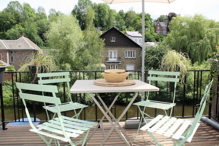 La Roche en Ardenne Maison au bord de l'eau
