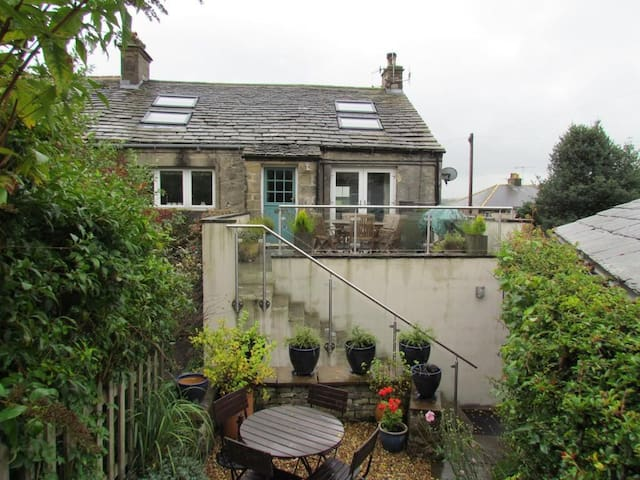 Superb character- home in charming Dales village.