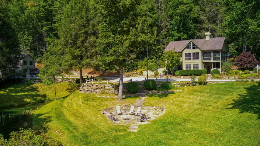 Secluded Home on 10 Peaceful Acres