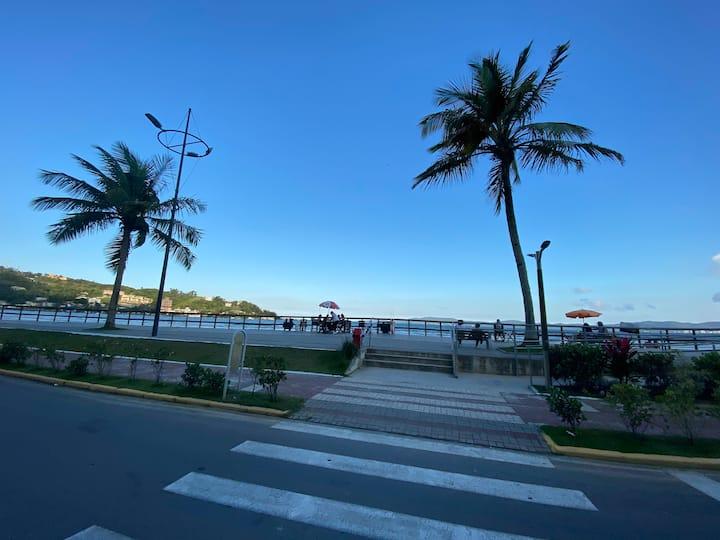 Quadra do mar no centro de Itapema