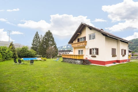 Apartment in Tröpolach with Balcony, Garden, Swimming Pool