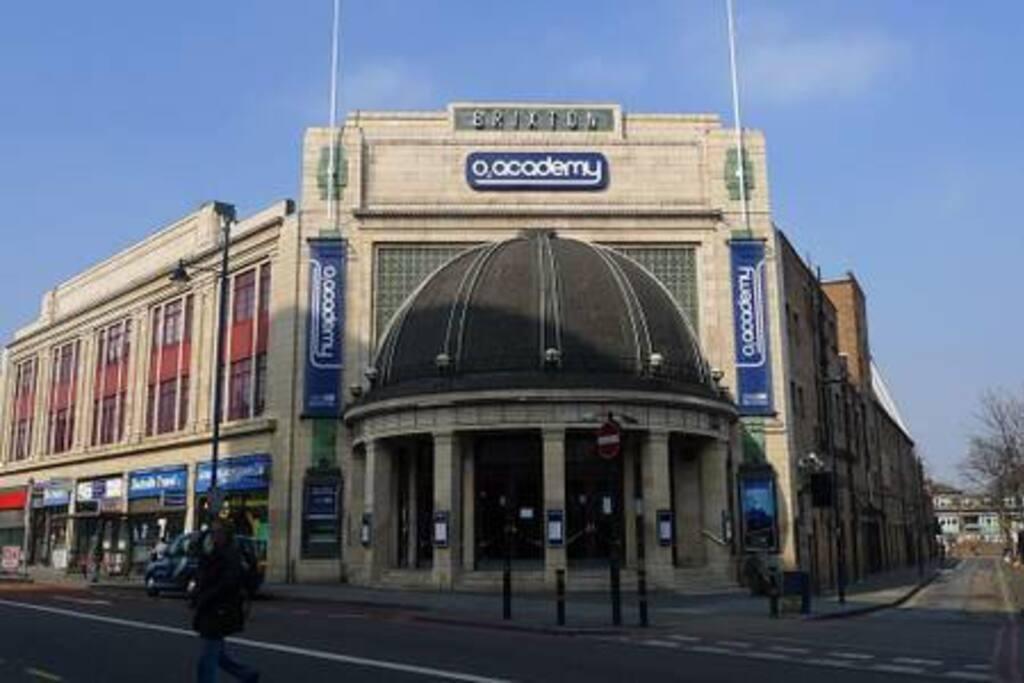 Brixton Academy (one minute walk)