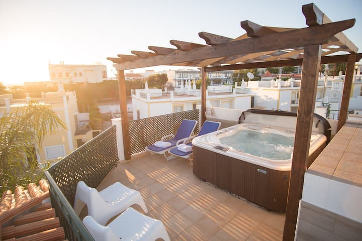Villa Ria Rose - Alto da Ria 23 (jacuzzi & beach)