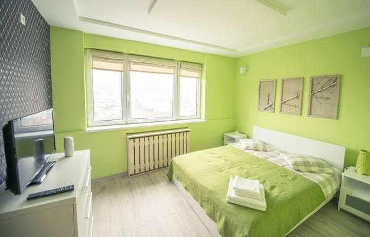 Apartment City Center Lux Cuza Voda