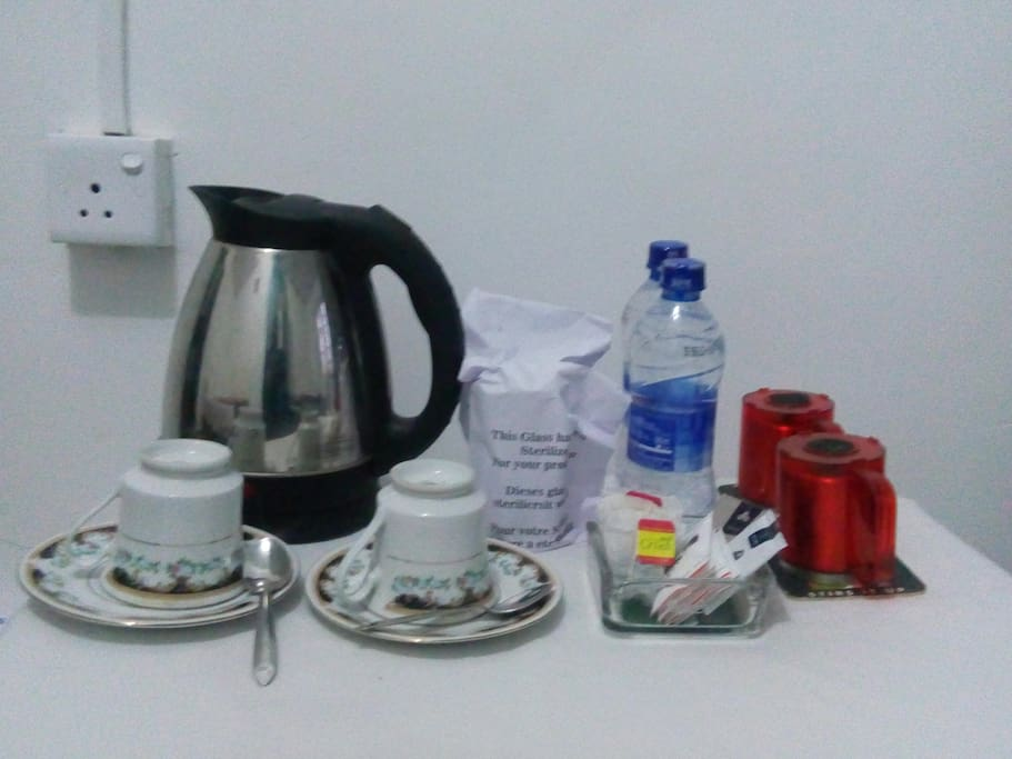 In Room Tea Coffee Making Facility Free Of Charge