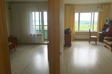 Sunny 2-rooms apartments at bay and forest. - Sankt-Peterburg