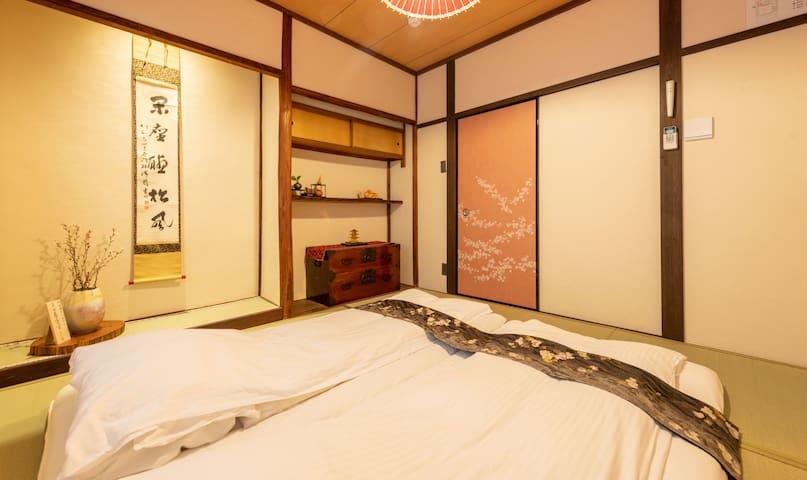 二层和室卧室 Japanese style bedroom on the second floor