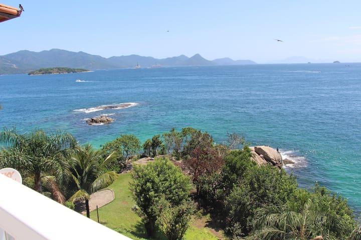 Santorini Casa 4 -O paraíso é aqui! Angra dos Reis