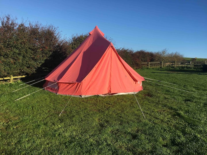 Glamping at Redcliffe near Filey