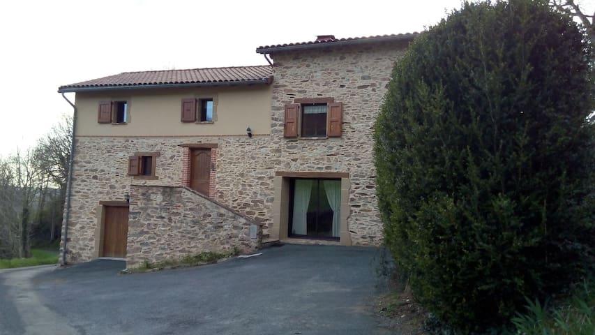 Gite de la Capelagne - Mont-Roc - Casa