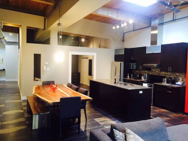 Modern LOFT with separated bedroom - Montreal - Loft