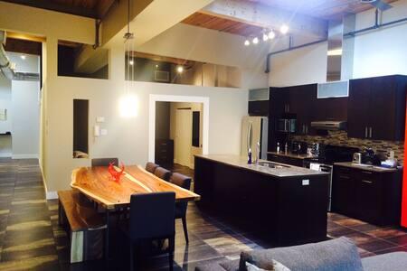 LOFT Moderne avec 1 chambre séparée - Montréal