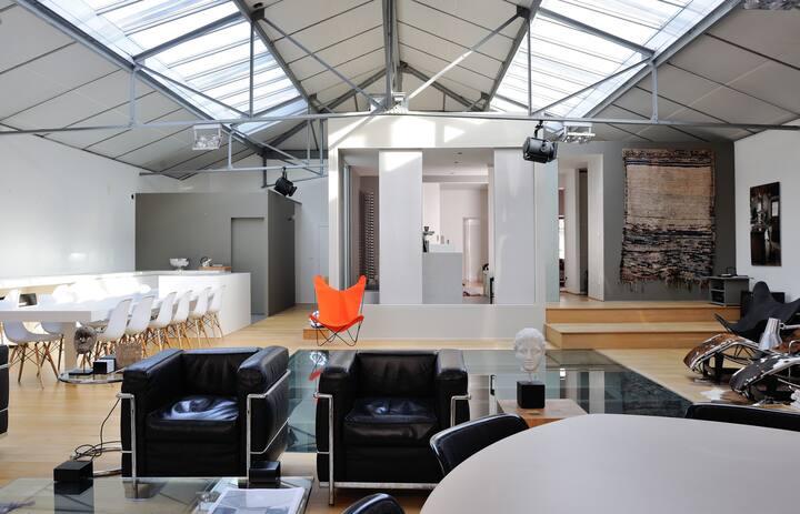 L'Envers du décor - Loft design in an industrial building