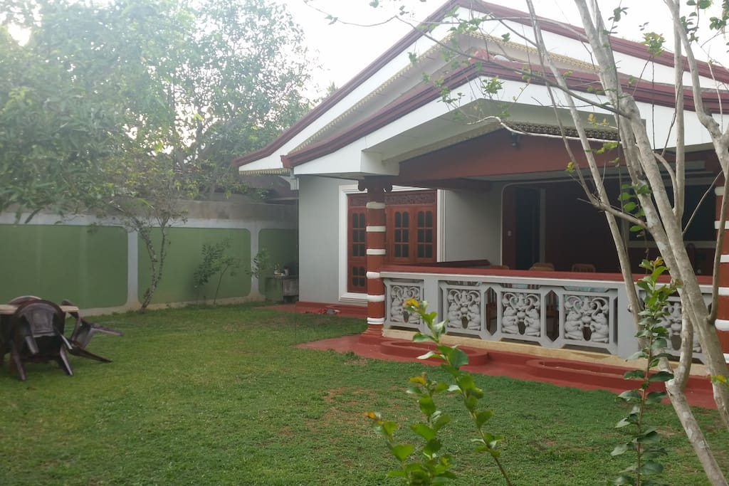 Front View at Kamal Villa