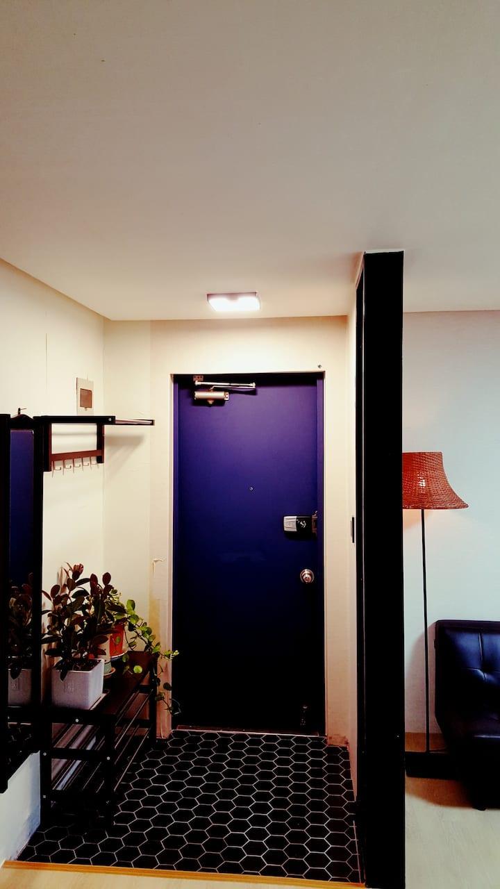 Jumunjin Blue House #강릉, #주문진, #양양, #인구, #블루하우스