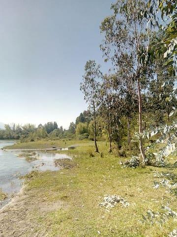 Cabaña en el campo, muy tranquilo y lleno de paz