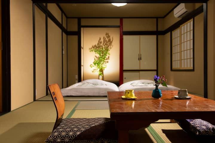 15 min Magome. Renovated tradi ryokan up to 7 ppl