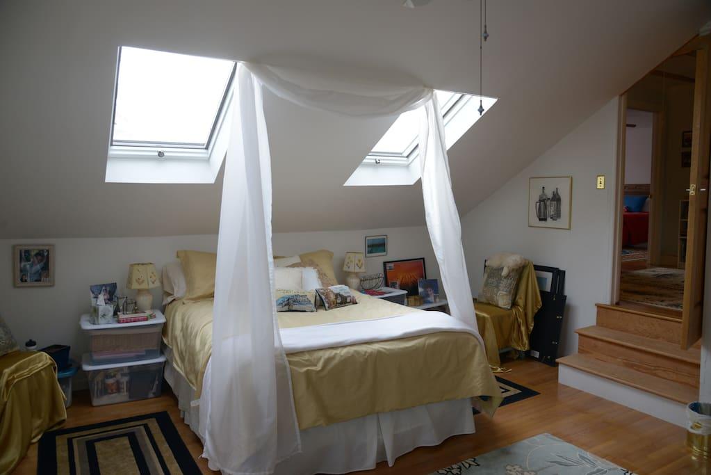 Bedroom #2: The White Room