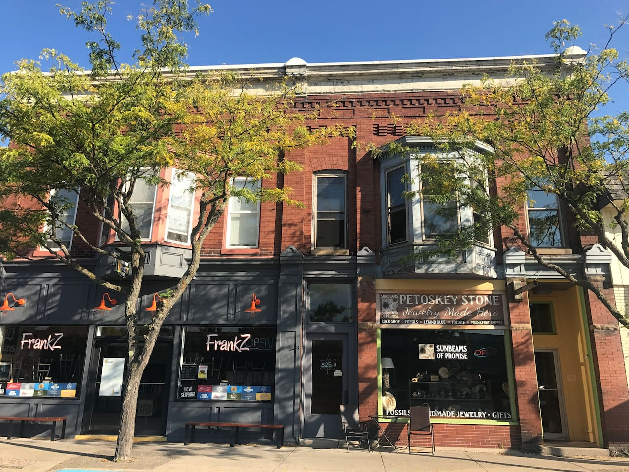 The apartment is located above Sunbeams of Promise (our retail shop) on Main St.