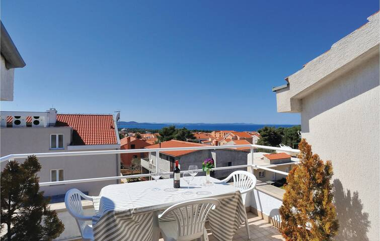 Holiday apartment with 2 bedrooms on 74m² in Zadar