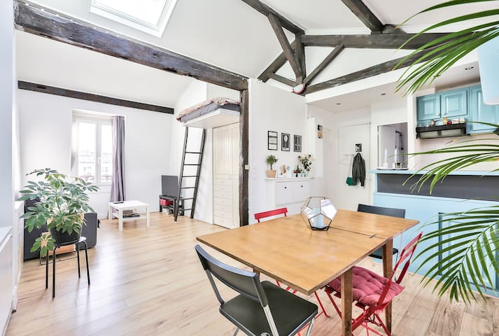 Beautiful 50m² in the 19th Arr.
