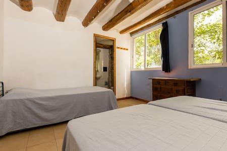 Alberg La Solana - B21 - Habitación Con 3 Literas Extensibles (3-6  plazas) - Salàs de Pallars - Wohnung