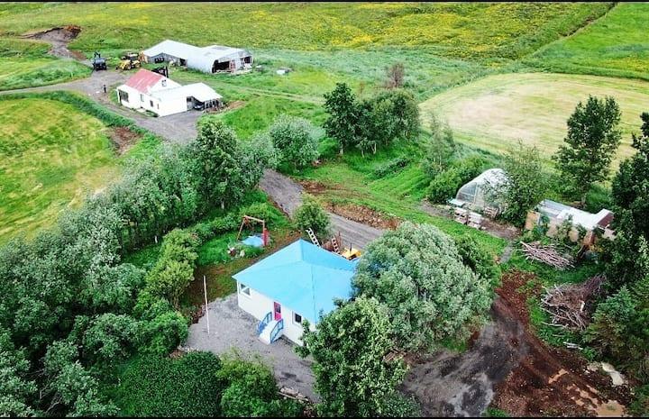 Hallfridarstadir farmhouse. Near Akureyri