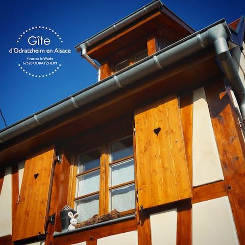 Gîte d'Odratzheim en Alsace - Odratzheim - Rumah