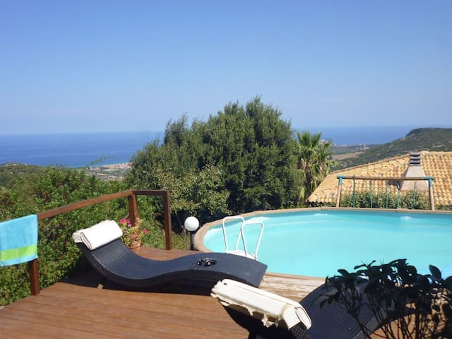 Villa Claudia with privat pool - Tergu - Casa