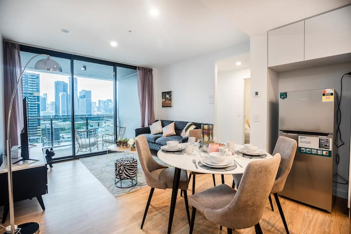 🔥Exceptional City RiverView Modern🔥2BR @SouthBank