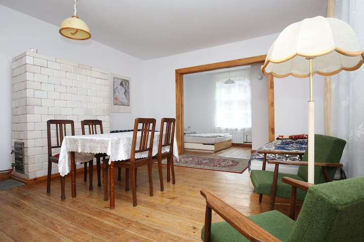 Apartment 38 m2 Mazury-Rooms by the beautiful lake