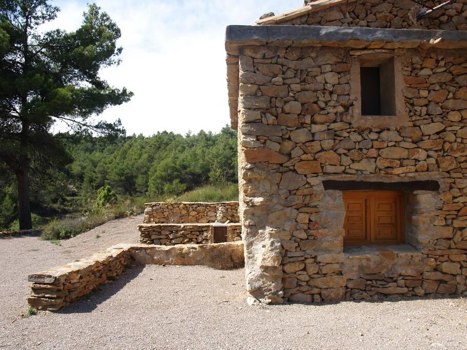Masia en el interior de castell n naturista casas en - Interior de castellon ...