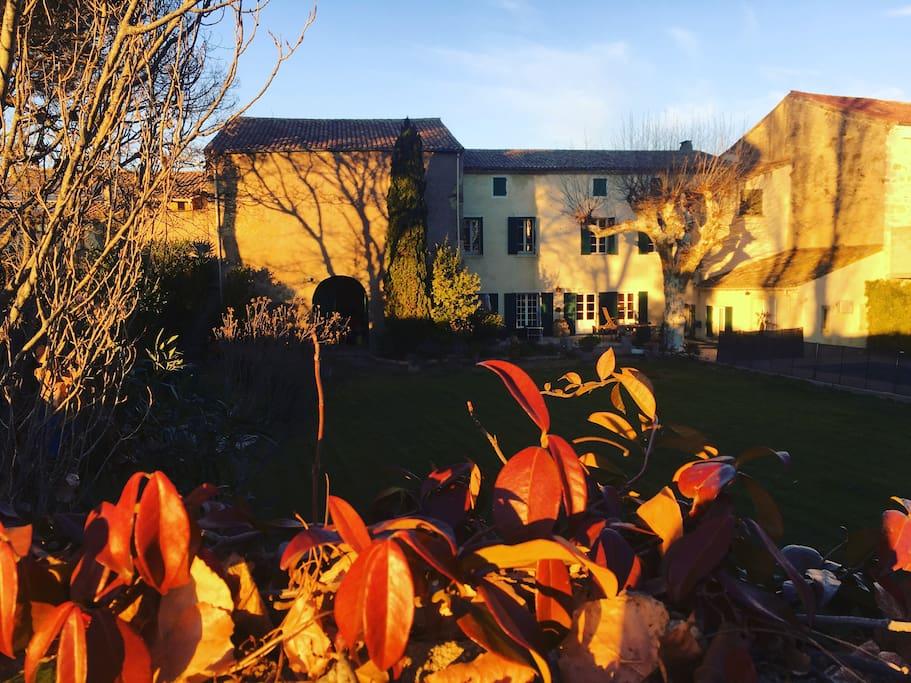 LA joli villa aux couleurs de l'automne