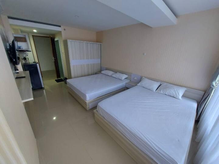 Apartment 2 double bed  harga sangat terjangkau!!!