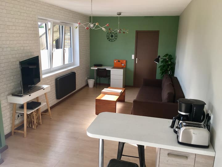 La Secherie, appartement meublé 45 m2 tout confort