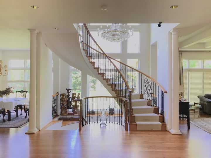 Superb 8500+sf executive home, a fabulous location
