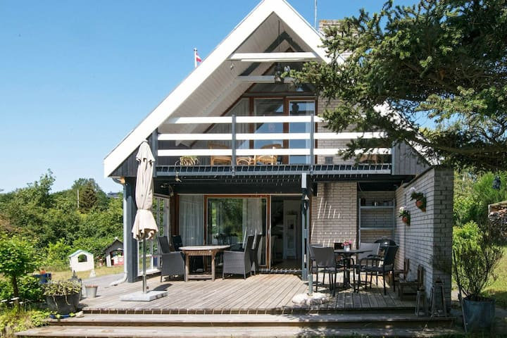 Modern Holiday Home in Ebeltoft with Terrace