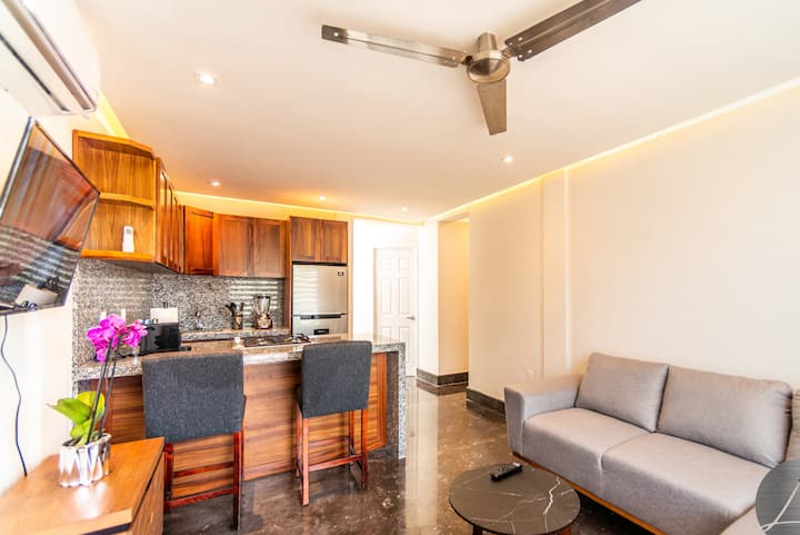 Fully Equipped Apt 10 min from Beach and Boardwalk