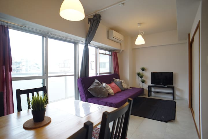 .Huge private apt 7ppl available! - Osaka - Apartment
