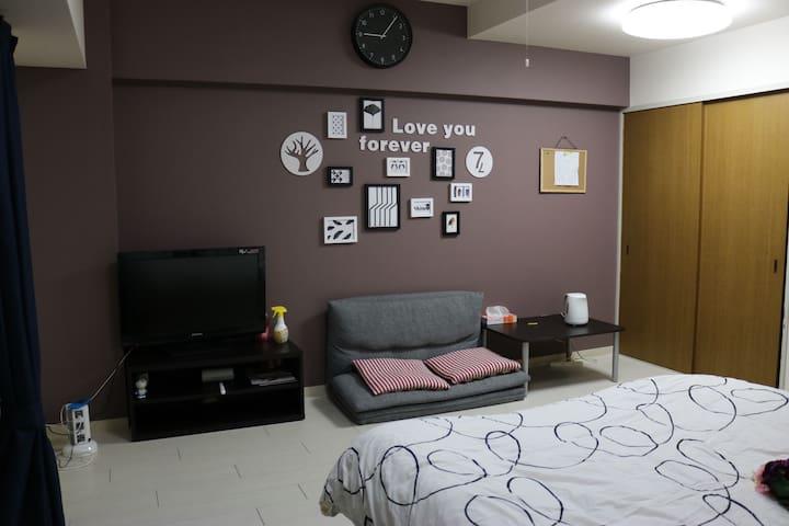 FamilyHouse02 - Ōsaka-shi - Apartemen