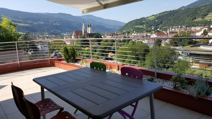 Panoramic apartment   in Brixen