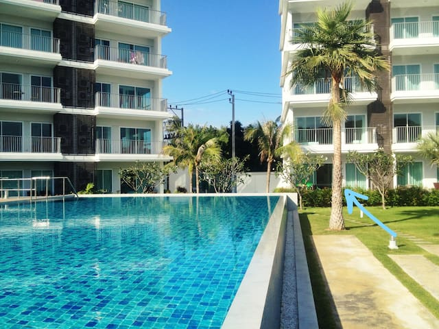 The Sea Condominium B11 @ Dolphin Bay, Pranburi