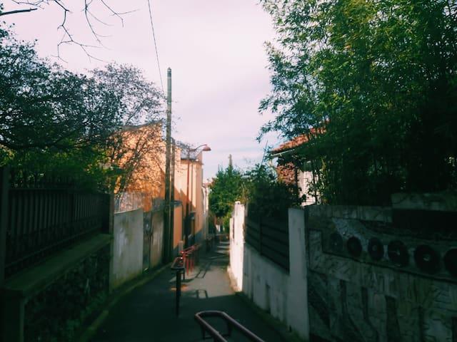 Atypical house in quiet neighborhood,  Zone 2